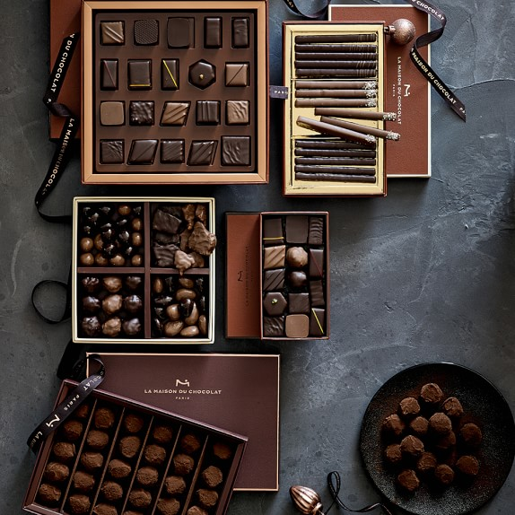 la maison du chocolat assorted chocolates williams sonoma. Black Bedroom Furniture Sets. Home Design Ideas