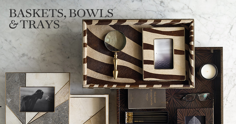Baskets, Bowls & Trays