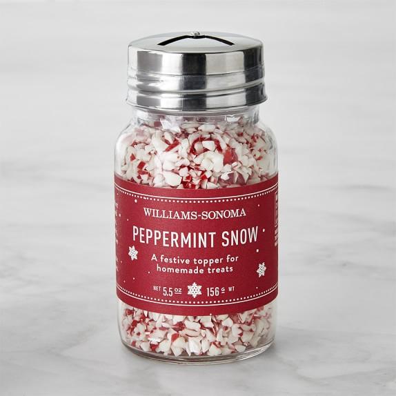 Williams Sonoma Peppermint Snow
