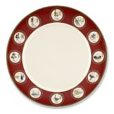 12 Days of Christmas Dinner Plate