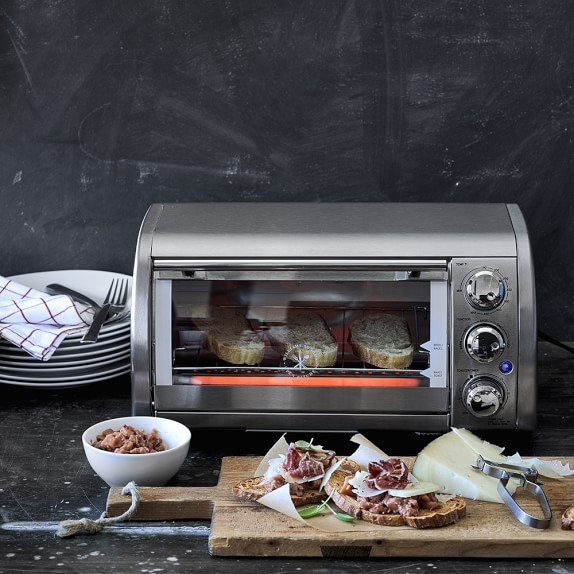 Open Kitchen Oven ~ Williams sonoma open kitchen stainless steel toaster oven