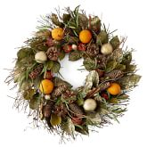 Spiced Chestnut Scented Wreath