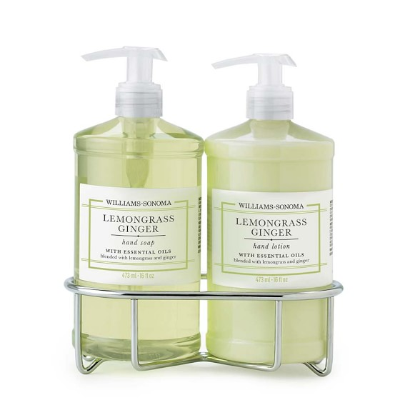 Williams-Sonoma Lemongrass Ginger Soap & Lotion, Classic 3-Piece Set