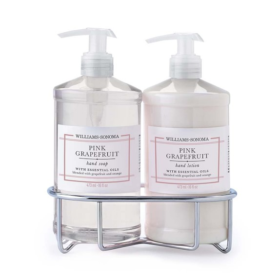 Williams-Sonoma Pink Grapefruit Soap & Lotion, Classic 3-Piece Set