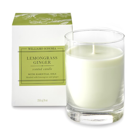 Williams-Sonoma Lemongrass Ginger Candle