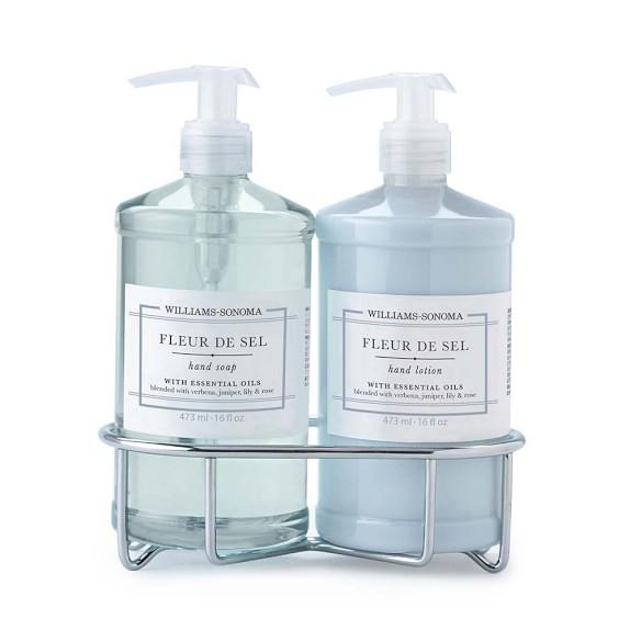 Williams-Sonoma Fleur de Sel Soap & Lotion, Classic 3-Piece Set