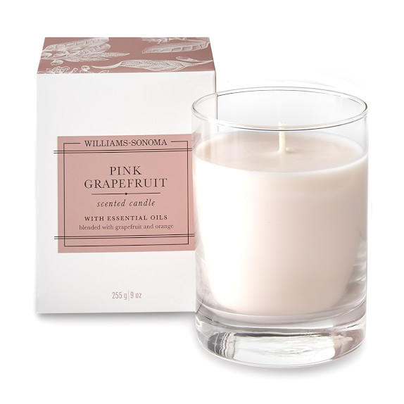 Williams-Sonoma Pink Grapefruit Candle