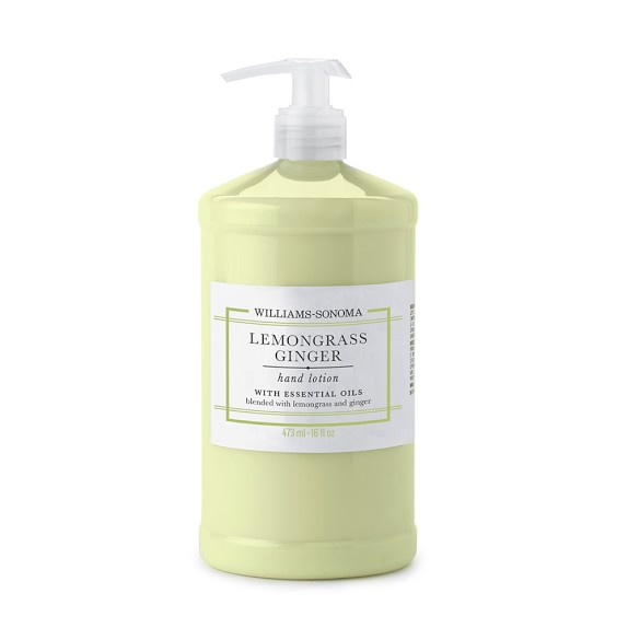 Williams-Sonoma Lemongrass Ginger Hand Lotion, 16oz.