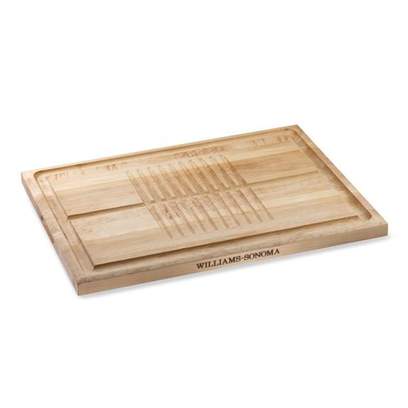 Williams sonoma essential carving board maple