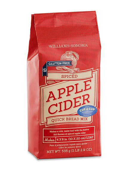 Williams-Sonoma Gluten-Free Apple Cider Quick Bread Mix