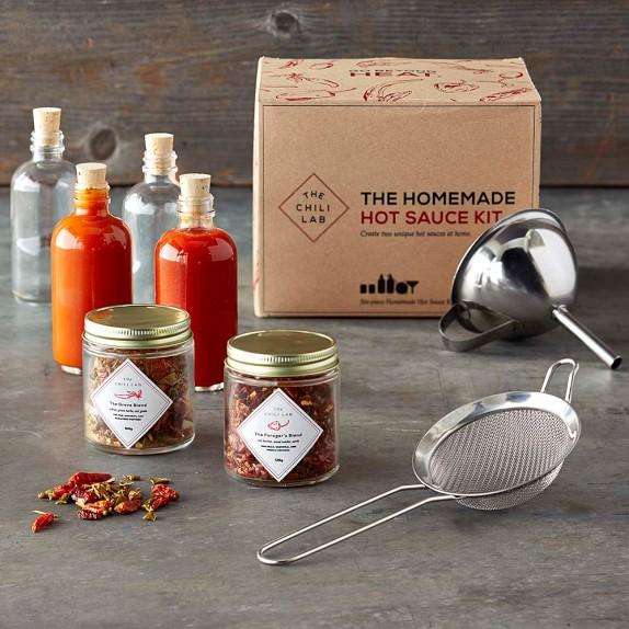 The Chili Lab Homemade Hot Sauce Kit | Williams-Sonoma