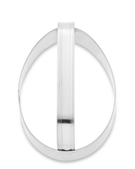 Egg Stainless-Steel Handled Cookie Cutter