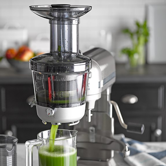 Kitchenaid Artisan Slow Juicer Review : KitchenAid Stand Mixer Slow Juicer Attachment Williams Sonoma