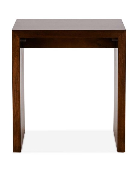 Montrose Side Table, Dark Walnut