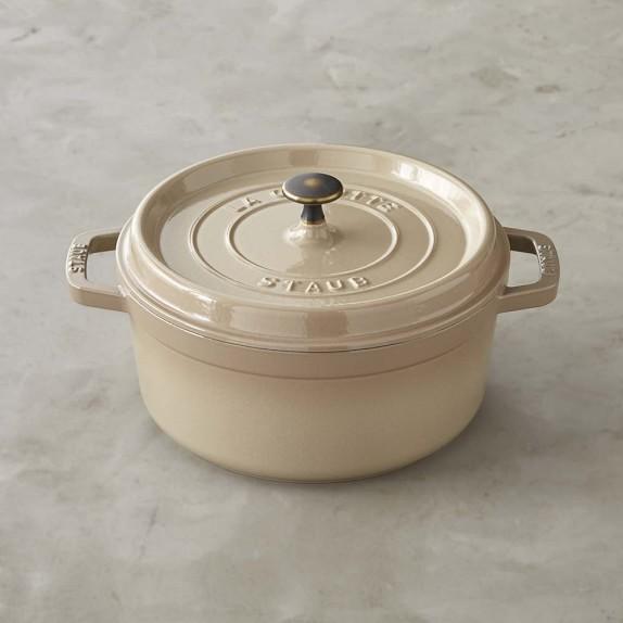 Staub Round Oven, 4-Qt., Sesame