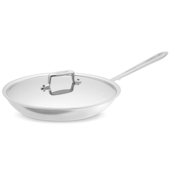 """All-Clad d5 Stainless-Steel Nonstick Covered Fry Pan, 12"""""""