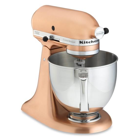 Kitchenaid metallic series 5 qt stand mixer williams for Kitchenaid stand mixer