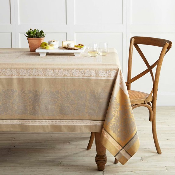 Wine Country Harvest Jacquard Tablecloth, 70