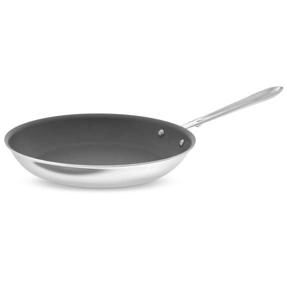 All-Clad d5 Stainless-Steel Nonstick Fry Pan, 12""