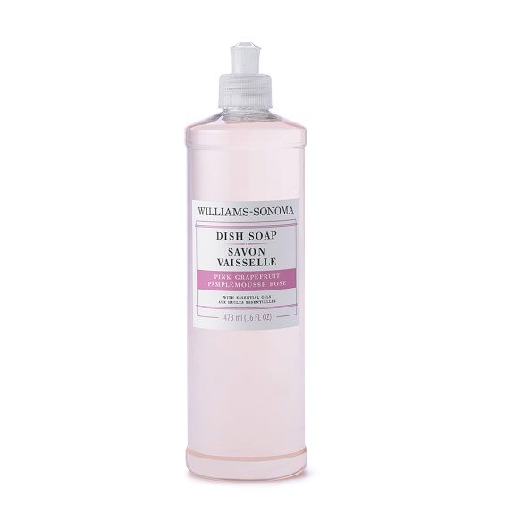 Williams Sonoma Pink Grapefruit Dish Soap, 16oz.