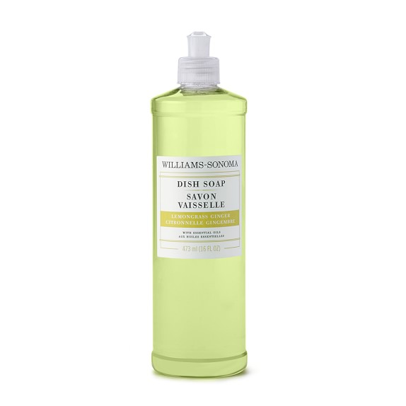 Williams Sonoma Lemongrass Ginger Dish Soap, 16oz.