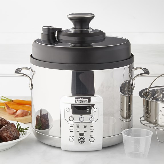 Electric Steam Cooker ~ All clad electric pressure cooker with precision steam