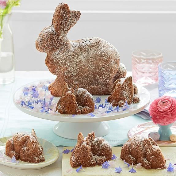 How To Make A Rabbit Cake Shape