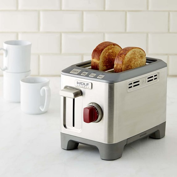 Home Kitchen Electrics Toasters & Ovens Wolf Gourmet 2-Slice Toaster