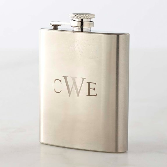 Stainless-Steel Flask, 8 oz.