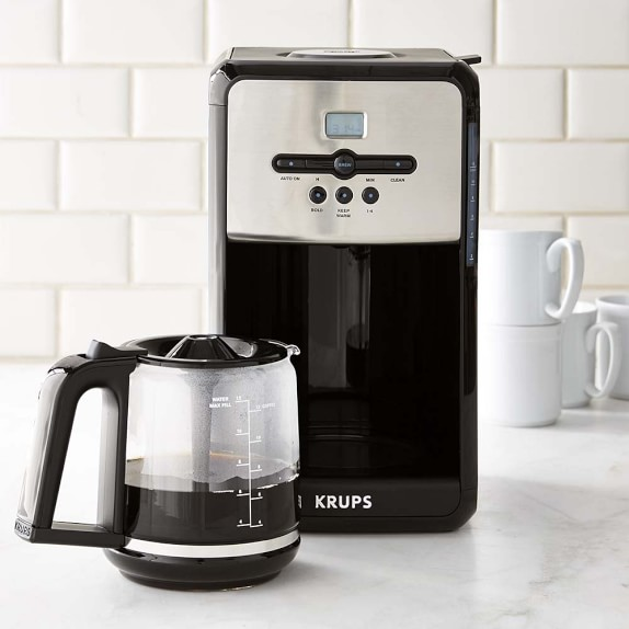 krups savoy programmable coffee maker with aroma tube. Black Bedroom Furniture Sets. Home Design Ideas