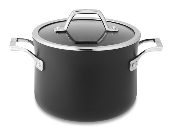 calphalon elite nonstick soup pot williams sonoma. Black Bedroom Furniture Sets. Home Design Ideas