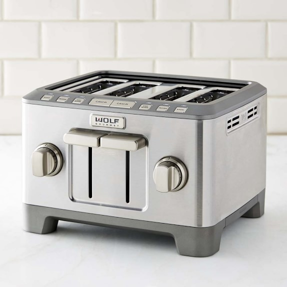 Home Kitchen Electrics Toasters & Ovens Wolf Gourmet 4-Slice Toaster