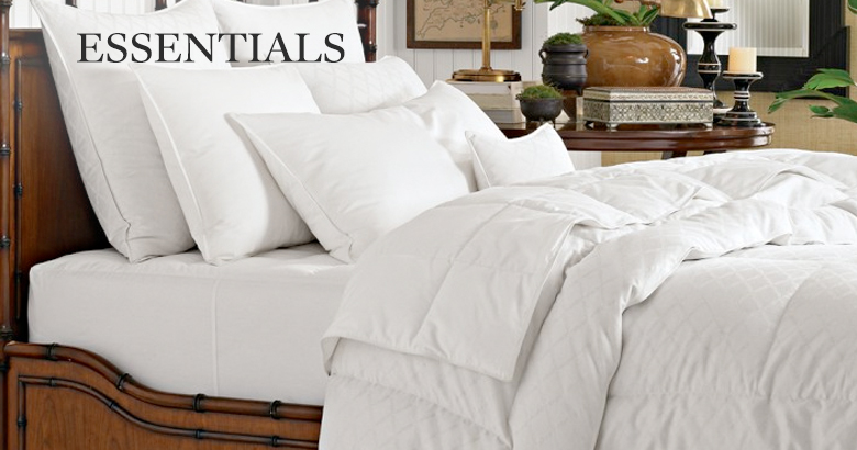 Down Comforters Amp Bed Skirts Williams Sonoma