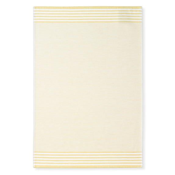 Williams Sonoma Bay Stripe Towels, Set Of 4, Jojoba