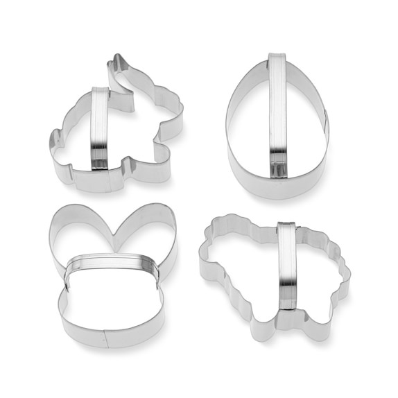 Williams Sonoma Easter Cookie Cutters, Set of 4