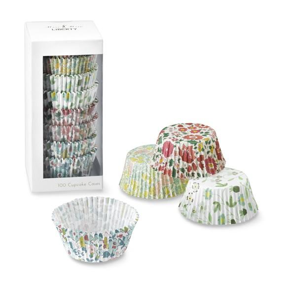 Meri Meri Liberty Print Cupcake Liners, Set of 100