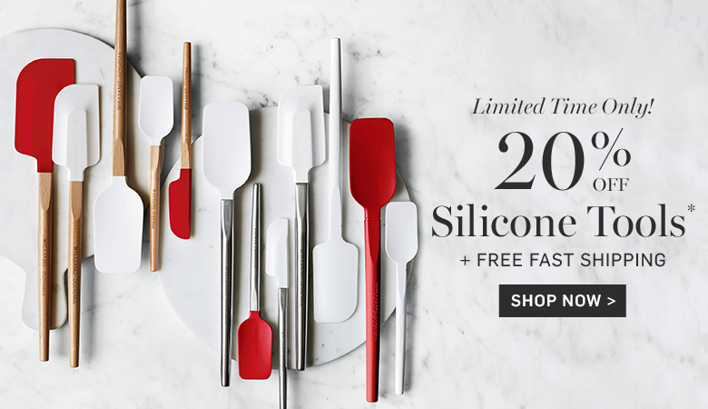 20% Off Silicone Tools + Free Fast Shipping