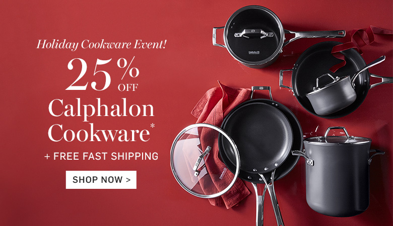 25% Off Calphalon Cookware + Free Fast Shipping