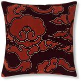Tibetan Cloud Embroidered Velvet Pillow Cover 20