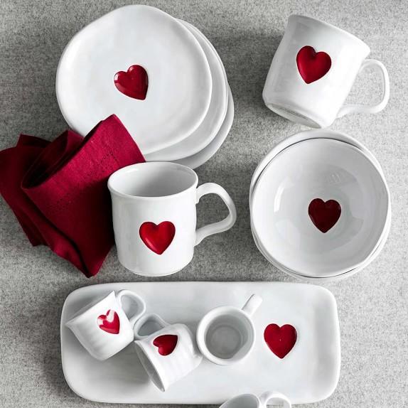 Valentine S Day Mugs Set Of 4 Williams Sonoma