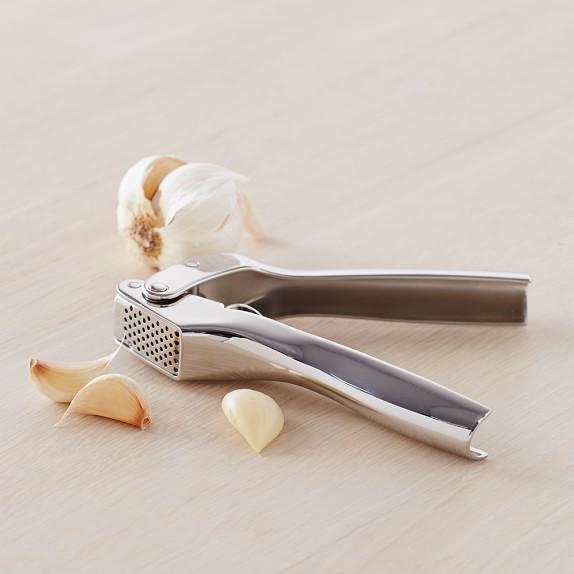 Williams Sonoma Stainless-Steel Garlic Press