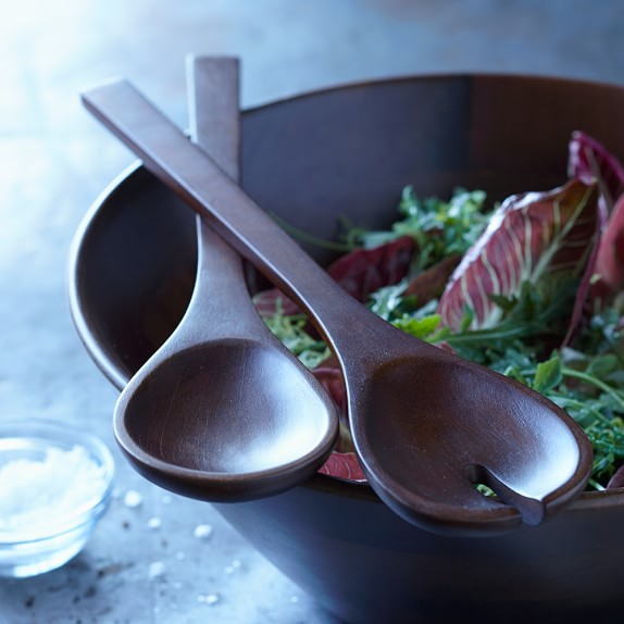 Williams Sonoma Open Kitchen Wooden Salad Servers, Set of 2