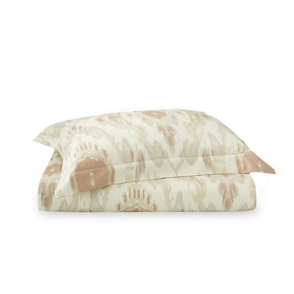 Istanbul Ikat Printed Bedding, Duvet, Queen, Lilac