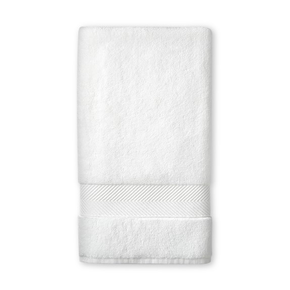Chambers organic aerospin towel white williams sonoma for How to keep white towels white
