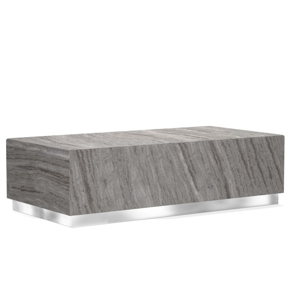 Rectangle Coffee Tables You Ll Love: Travertine Rectangular Coffee Table