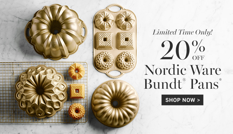 20% Off Nordic Ware Bundt® Pans