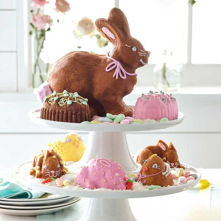 Nordic Ware Easter Bunny Cake Pan | Williams Sonoma