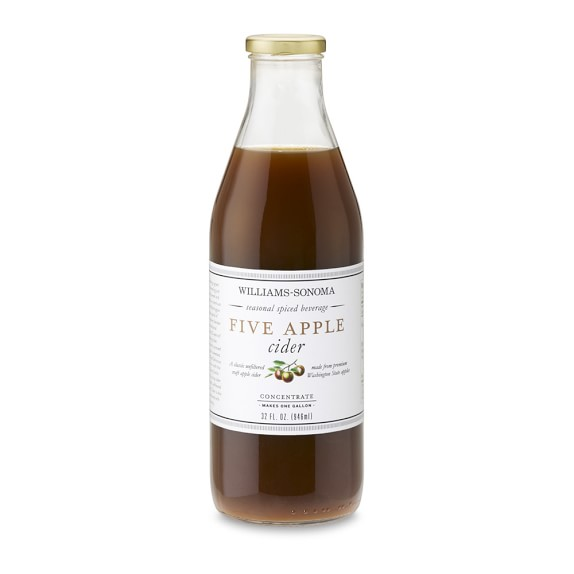 Williams Sonoma Five Apple Cider Concentrate