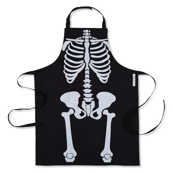 Halloween Skeleton Adult Apron