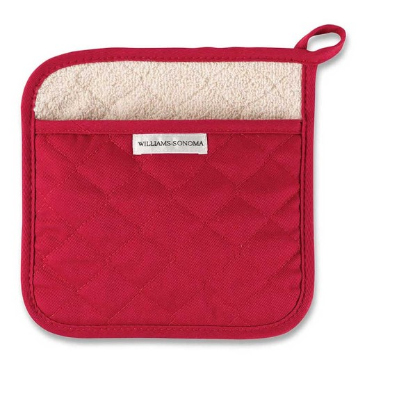 Williams Sonoma Potholder, Claret